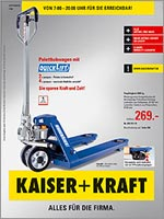 katalog service kaiser kraft gmbh der betriebs und. Black Bedroom Furniture Sets. Home Design Ideas